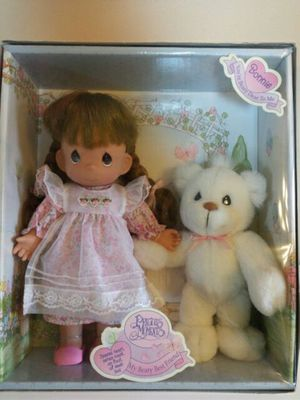 New! Precious moments Doll with Bear for Sale in Wichita, KS