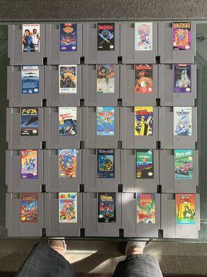 NES Nintendo Lot 25 Games for Sale in Glendale, CA