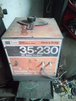 220 arc welder for Sale in Modesto, CA