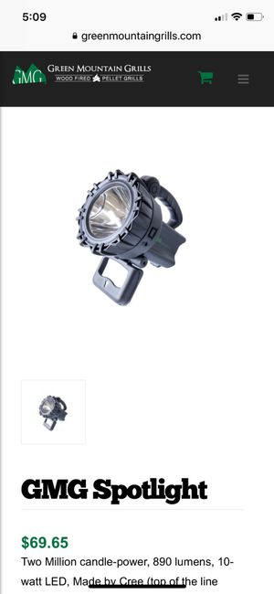 New Green Mountain Grills spotlight for Sale in Los Angeles, CA