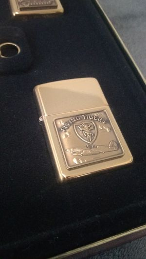 New, (4) ZIPPO Lighters, WWII Collection, #'d for Sale in Los Angeles, CA