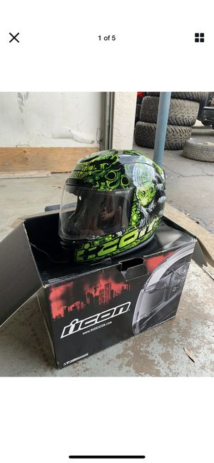 Rare ICON motorcycle helmet for Sale in Apopka, FL