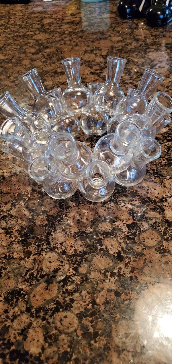 Vintage Clear Glass Bud Vase For Sale In San Diego Ca