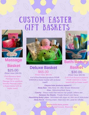 Easter baskets for Sale in Cardington, OH