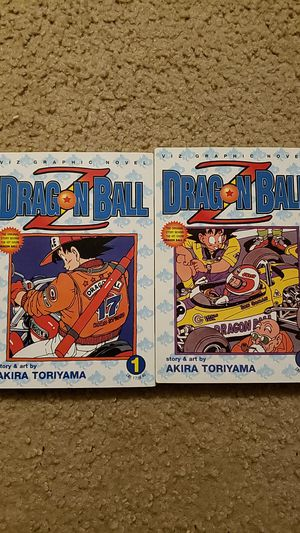 Dragon Ball Z Vol 1 & 2 for Sale in Citrus Heights, CA