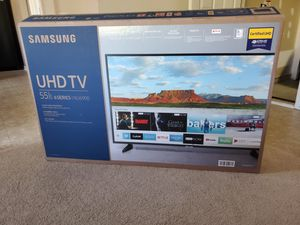 Smart TV Samsung 55 inches brand new 4K for Sale in Charlotte, NC