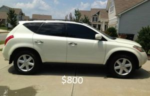 Crazy*Clean*Beautiful*2OO3 Nissan Murano for Sale in Springfield, MA