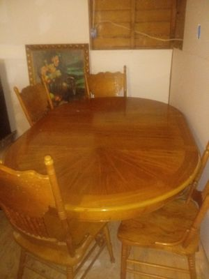 Kitchen table with chairs for Sale in San Angelo, TX