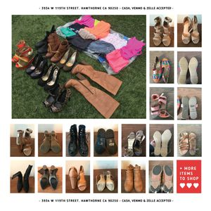 Ladies shoes and clothing for sale for Sale in Hawthorne, CA