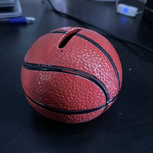 Little Basketball Piggy Bank for Sale in Pomona, CA
