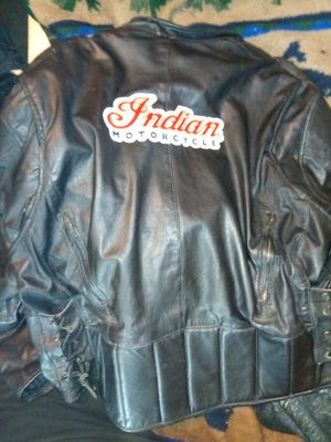 Indian motorcycle leather jackeot xl for Sale in Wichita, KS
