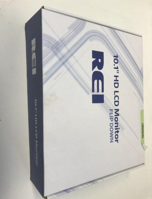 Rei 10.1 Inch Manual Flip Screen TV For Cars , Vans , Trucks , Bus , Camper