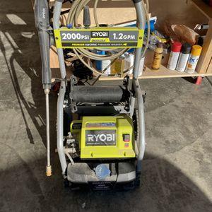 Ryobi Electric Pressure Washer | 2000 PSI 1.2 GPM for Sale in Renton, WA