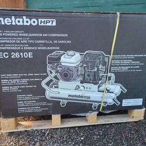 New Metabo Gas Air Compressor Honda Motor for Sale in Tualatin, OR