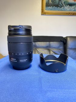 Canon 18-135mm USM EFS w/zoom adapter/New for Sale in Seattle,  WA