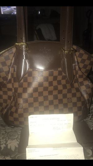 Louis Vuitton Verona MM Bag with receipt and Bag for Sale in Suffolk, VA