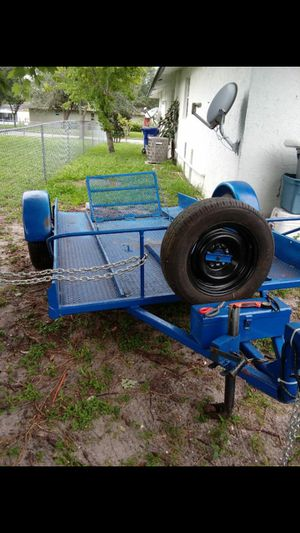Motorcycle trailer in four wheeler trailer for Sale in Pompano Beach, FL