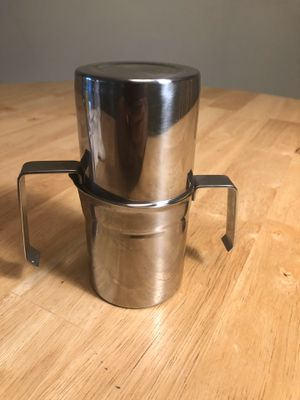 Vintage rare ilsa stainless steel 1 cup neapolitan coffee maker for Sale in Lake Worth, FL
