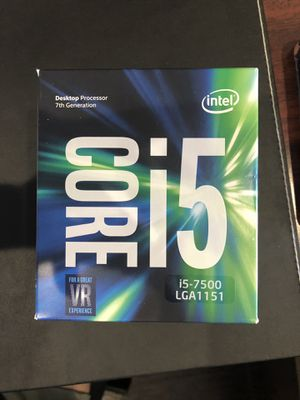 Intel Core i5 -7500 desktop Processor 7th Generation for Sale in Boynton Beach, FL