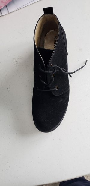 Suede shoe boot womens for Sale in White Oak, PA
