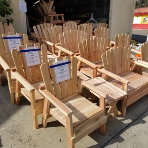 4-piece outdoor furniture patio set. Unfinished! New! for Sale in La Mesa, CA