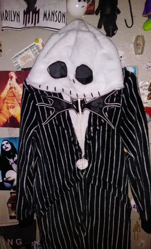 A nightmare before Christmas jack skellington long pajama for Sale in E RNCHO DMNGZ, CA