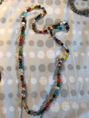 Glass bead necklace from india for Sale in Fort Lauderdale, FL
