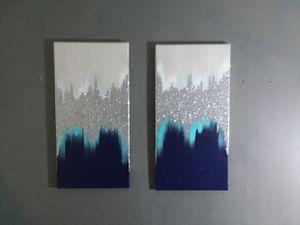 Sparkle and shimmer 2 piece home decor set for Sale in Smyrna, GA
