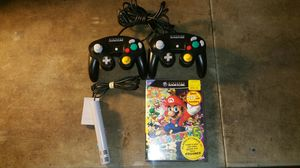 Mario party 6 GameCube with mic 2 original controllers for Sale in Largo, FL