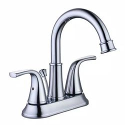 Bettine 4 in. Centerset 2-Handle High-Arc Bathroom Faucet in Chrome by Glacier Bay for Sale in Newark,  NJ