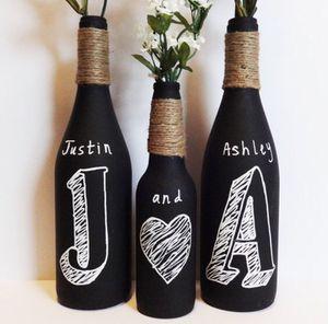 Chalkboard bottle set for Sale in Jersey City, NJ