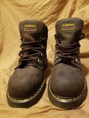 Brand New Dr. Martens Steel Toe Boots Sz.10 In Men's for Sale in Houston, TX