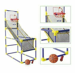 Indoor Outdoor Family Basketball Hoop Arcade Room Game Children's Ball & Pump for Sale in Torrance, CA