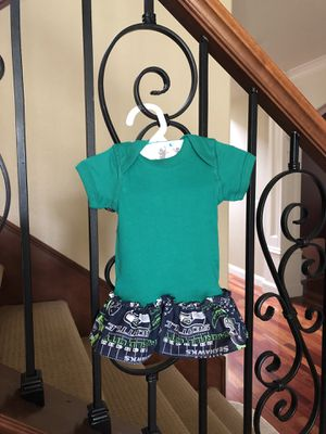 Seahawks newborn T-shirt dress for Sale in Vancouver, WA