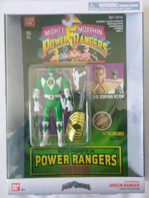 Green ranger collectible toy for Sale in Mesa, AZ