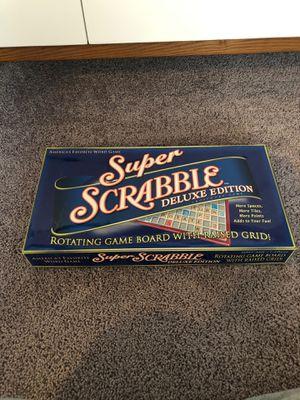 Super Scrabble Game for Sale in Auburn, WA