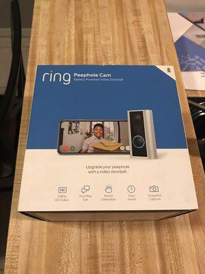 Ring camera peephole for Sale in Melbourne Village, FL