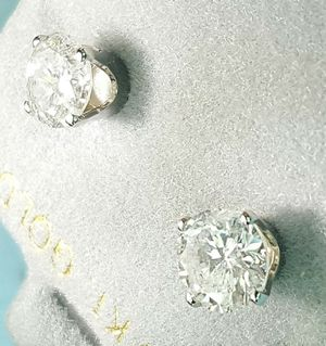 2.15 carat diamond stud earrings for Sale in Atlanta, GA