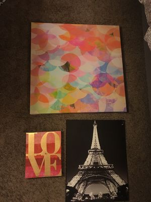 Wall Pictures/Canvas for Sale in Tempe, AZ
