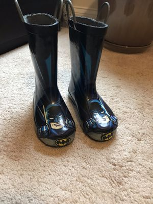 Batman rain boots (kids) for Sale in Apopka, FL