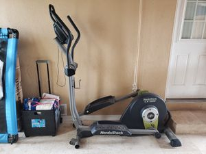Nordic track elliptical with power cable. for Sale in Anaheim, CA