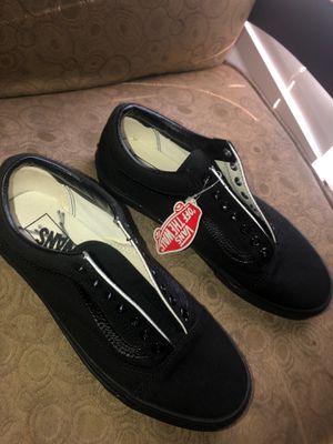 Size 10 men , All black Vans for Sale in Brookshire, TX