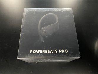 Beats Powerbeats Pro Wireless Earbuds Black for Sale in Kent,  WA