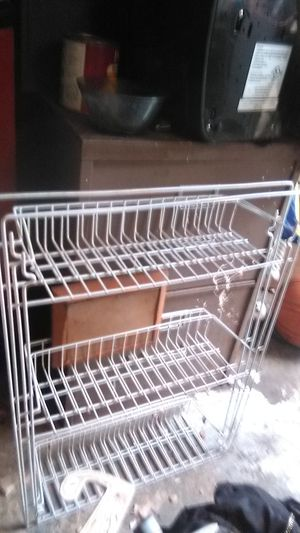 2 metal shelves for Sale in Wheatland, CA