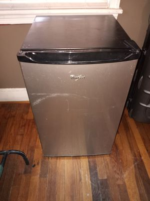 Whirlpool Stainless Steel Mini Fridge - Works Great for Sale in West Columbia, SC