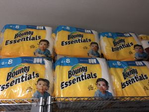 Bounty paper towels for Sale in Riverside, CA