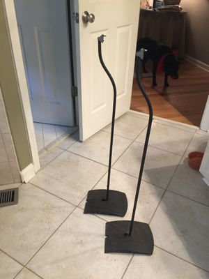 Bose speaker stands set of 2 for Sale in Roswell, GA