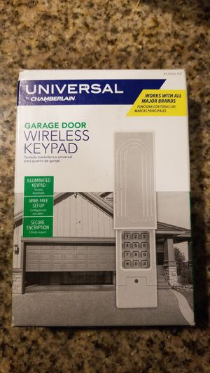 Chamberlain Garage Door Wireless Keypad for Sale in Whittier, CA