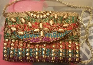 Multicolored Embroidered Purse for Sale for sale  Bronx, NY
