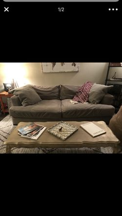 Grey couch for Sale in Sandy,  UT